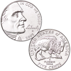 2005 Bison, Denver Mint