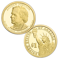 2011-S Andrew Johnson Presidential Dollar