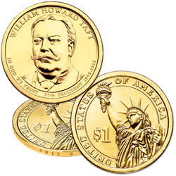 2013-D William Howard Taft Presidential Dollar