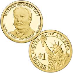 2013-S William Howard Taft Presidential Dollar