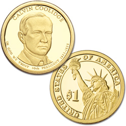 2014-S Calvin Coolidge Presidential Dollar