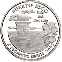 2009 Puerto Rico, San Francisco Mint