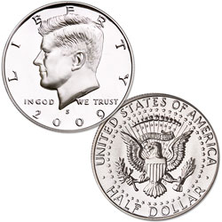 2009 San Francisco Mint, 90% Silver