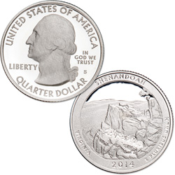 2014-S Shenandoah National Park Quarter