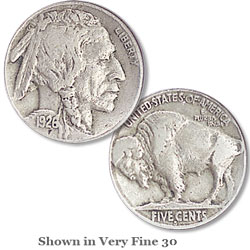 1926-S Buffalo Nickel