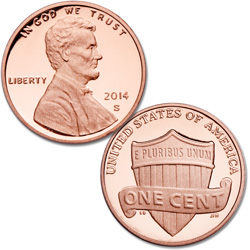 2014-S Lincoln Head Cent