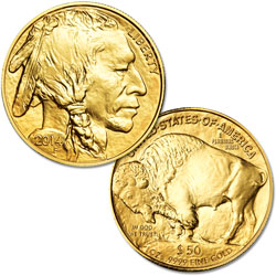 2014 $50 1 oz. Gold American Buffalo