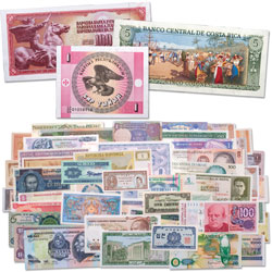 50 Notes from 50 Countries