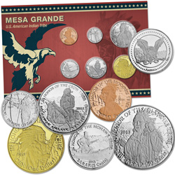 2013 Mesa Grande Set, Uncirculated