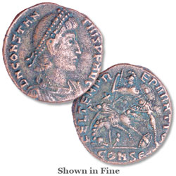 Constantius II Reduced Follis