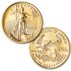 $5 1/10 oz., date our choice