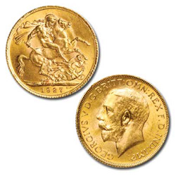 1911-1932 Sovereign, King George V