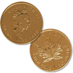 1/2 oz. Maple Leaf in Air-Tite, date our choice