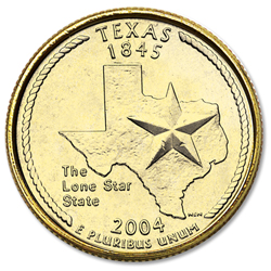 Gold-Plated Texas