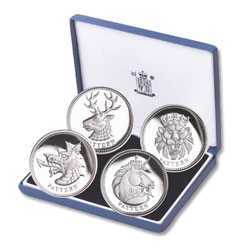 2004 United Kingdom Silver Pound Pattern Proof Set
