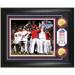 2013 World Series Champions - Official Framed Photo and Medallions