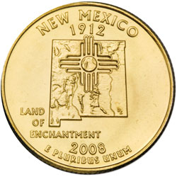 Gold-Plated New Mexico