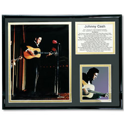 Johnny Cash Photo in Frame