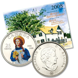 2008 Anne of Green Gables Quarter