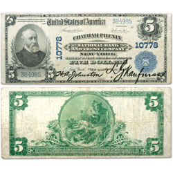 1902 $5 National Bank Note