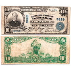 Series 1902 Large-Size $10 National Bank Note