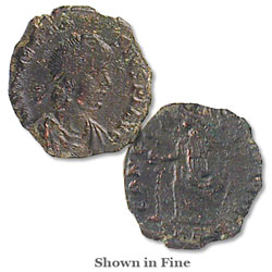 A.D. 379-395 Theodosius I Reduced Follis