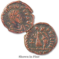 A.D. 383-408 Arcadius Reduced Follis