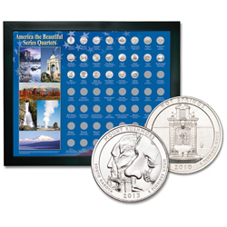 National Park Quarter Frame Set (20 coins)