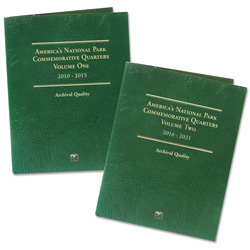 2010-2021 Volumes 1 & 2, Classic Folders (holds 112 coins)
