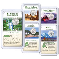 2012 National Park Quarters in Showpaks