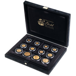 US Gold Type Coin Presentation Case