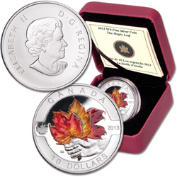 2013 Canada Silver $10 Maple Leaf