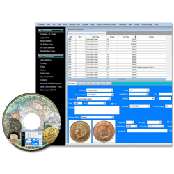 Coin Collectors Assistant Deluxe Software