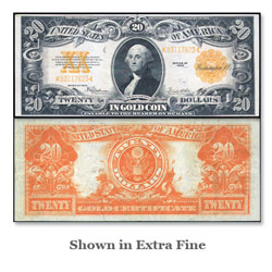 Series 1922 $20 Large-Size Gold Certificate