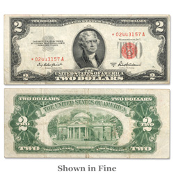 $2 Series 1953A, Star Note