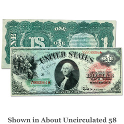 Series 1869 $1 Large-Size Legal Tender Note