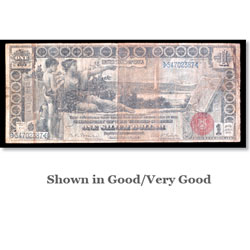 $1 Note, Series 1896, Bruce-Roberts