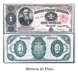 $1 Note, Series 1891, Tillman-Morgan