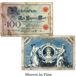 1898 Germany 100 Mark, P#20