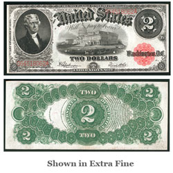 $2 Note, Series 1917