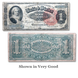 Series 1886 $1 Silver Certificate
