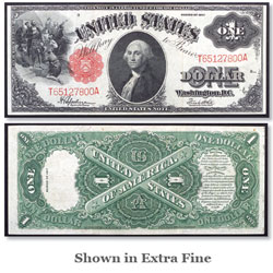 $1 Note, Series 1917, Sawhorse design