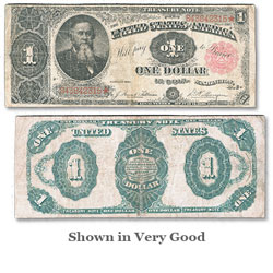 Series 1891 $1 Large-Size Treasury Note