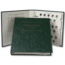1916-1945 Mercury Dime Album
