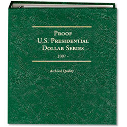 2007- Presidential Dollar Proof Album
