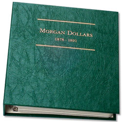 1878-1891 Morgan Dollar Album, Volume 1
