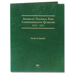 Three, America's National Park Quarter Folder