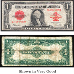 $1 Note, Series 1923, Cogwheel design