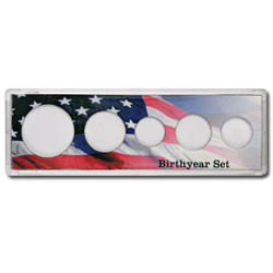 5-coin Birthyear Snaplock Holder