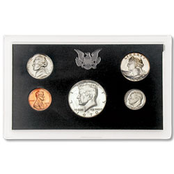 1970 Proof Set, Small Date